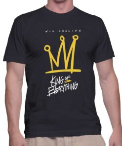 Best T Shirt Wiz Khalifa King Of Everything Unisex On Sale