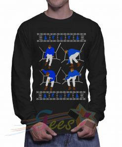 Cheap Graphic Drake Christmas Sweatshirt