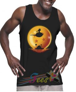 Cheap Graphic Tank Top Dragon Ball Goku Action