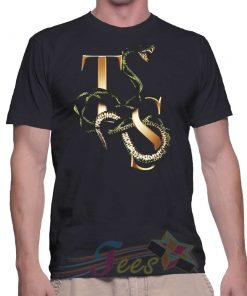 Cheap Taylor Swift Snake Logo Graphic Tees On Sale