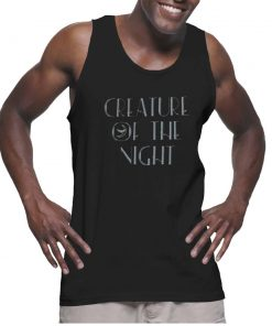 Cheap Graphic Tank Top Creature Of The Night