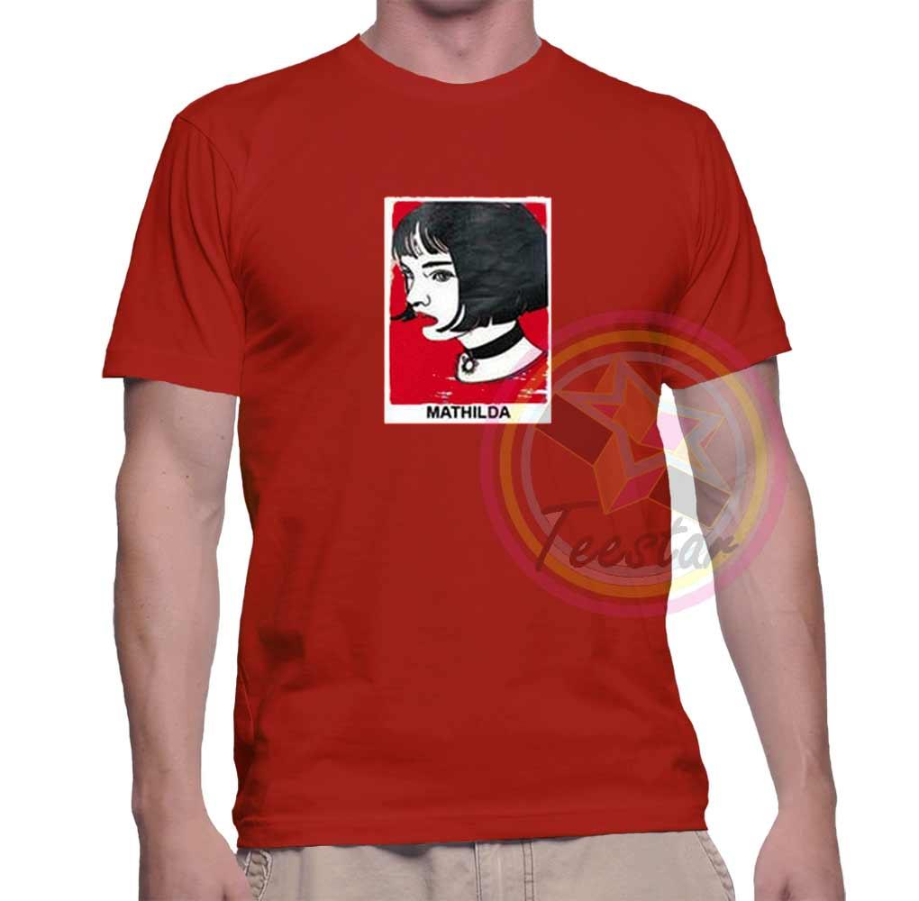 a9de4f46f Cheap Mathilda Graphic Tees On Sale – Custom Graphic Tee Shirts ...