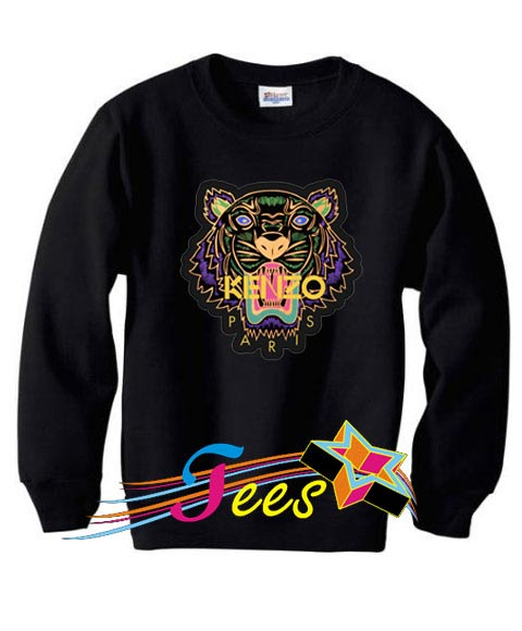 Cheap Graphic Tiger Paris Sweatshirt